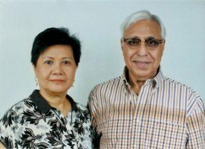 Pilar and Ramesh Bhatia
